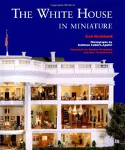 Cover art for THE WHITE HOUSE IN MINIATURE