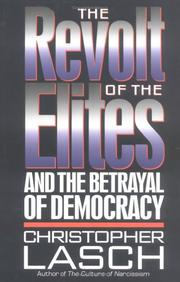 Cover art for THE REVOLT OF THE ELITES