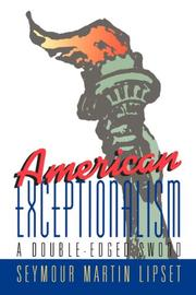 Cover art for AMERICAN EXCEPTIONALISM