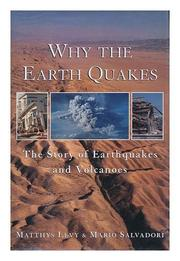 Book Cover for WHY THE EARTH QUAKES