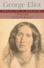 GEORGE ELIOT by Frederick R. Karl
