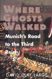 Cover art for WHERE GHOSTS WALKED