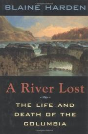 Cover art for A RIVER LOST