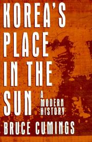 Book Cover for KOREA'S PLACE IN THE SUN