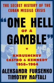 Book Cover for ``ONE HELL OF A GAMBLE''