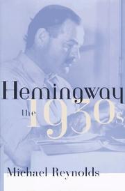 Cover art for HEMINGWAY