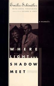 WHERE LIGHT AND SHADOW MEET by Emilie Schindler