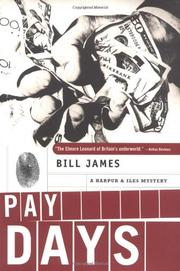 PAY DAYS by Bill James