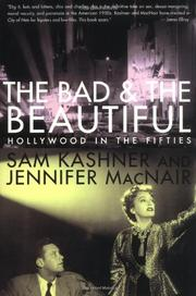 Cover art for THE BAD AND THE BEAUTIFUL