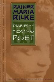 DIARIES OF A YOUNG POET by Rainer Maria Rilke