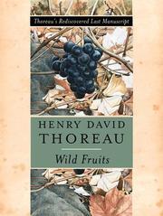 WILD FRUITS by Henry David Thoreau