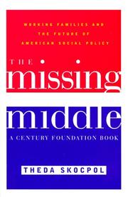 Cover art for THE MISSING MIDDLE