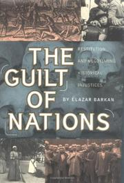THE GUILT OF NATIONS by Elazar Barkan