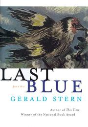 LAST BLUE by Gerald Stern