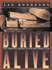 BURIED ALIVE by Jan Bondeson