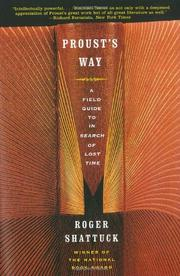 Book Cover for PROUST'S WAY