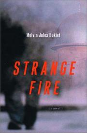 Cover art for STRANGE FIRE