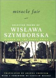 MIRACLE FAIR by Wislawa Szymborska