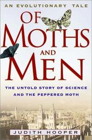 OF MOTHS AND MEN by Judith Hooper