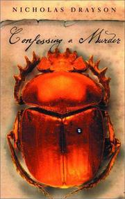 CONFESSING A MURDER by Nicholas Drayson