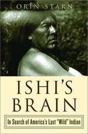 Cover art for ISHI'S BRAIN