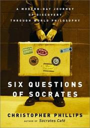 Cover art for SIX QUESTIONS OF SOCRATES