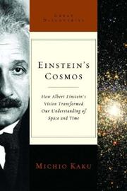 Cover art for EINSTEIN'S COSMOS