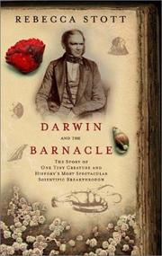 DARWIN AND THE BARNACLE by Rebecca Stott
