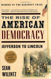 Cover art for THE RISE OF AMERICAN DEMOCRACY