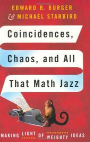 Cover art for COINCIDENCES, CHAOS, AND ALL THAT MATH JAZZ
