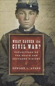 Book Cover for WHAT CAUSED THE CIVIL WAR?