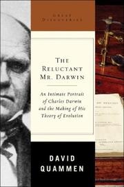 Cover art for THE RELUCTANT MR. DARWIN