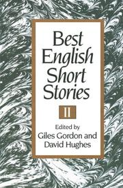 BEST ENGLISH SHORT STORIES II by Giles & David Hughes--Eds. Gordon