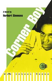 CORNER BOY by Herbert A. Simmons