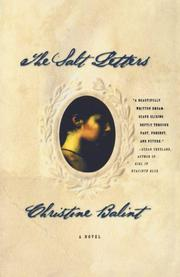 THE SALT LETTERS by Christine Balint