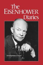 THE EISENHOWER DIARIES by Dwight D. Eisenhower