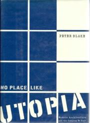 NO PLACE LIKE UTOPIA by Peter Blake