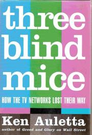 Cover art for THREE BLIND MICE