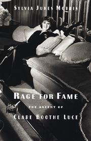 Cover art for RAGE FOR FAME