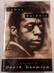 JAMES BALDWIN by David Leeming