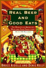 Cover art for REAL BEER AND GOOD EATS
