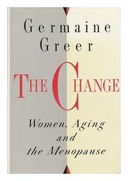 Book Cover for THE CHANGE