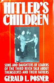 Cover art for HITLER'S CHILDREN