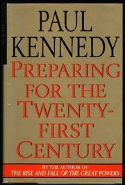 Cover art for PREPARING FOR THE TWENTY-FIRST CENTURY