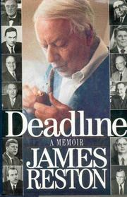 DEADLINE by Jr. Reston