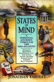 STATES OF MIND by Jonathan Yardley