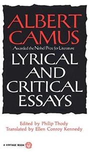 Book Cover for LYRICAL AND CRITICAL ESSAYS
