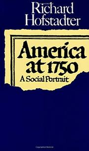 Cover art for AMERICA AT 1750