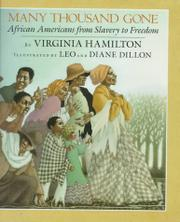 MANY THOUSAND GONE by Virginia Hamilton