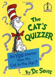 Cover art for THE CAT'S QUIZZER
